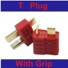 RC T plug connector for lipo battery