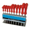 10pcs T-Handle Hex Wrench
