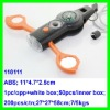 2012 Newest 7 in 1 / 6 in 1 utility Plastic LED whistle