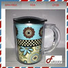 16oz double wall thermal to go mug with handle