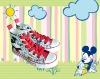 Disney canvas shoes