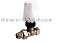 Temperature control radiator thermostatic valve
