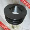 High precision v-belt drive pulley with taper bushes