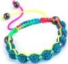 shamballa evil eye bracelet