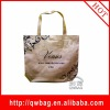 fashion factory cheap golden laser non woven tote bag