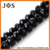 8mm Black Crystal & Glass Beads Jewelry Fit Necklace, Bracelets, Pendants