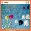 Clear wall plastic suction cups