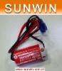 3.6V Lithium Battery Maxell ER17/33 with plug for Omron Mitsubishi PLC