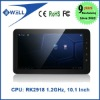 Rockchip RK2918 CPU 1.2G HZ 10.1 Inch Tablet PC Android 4.0 4GB HDMI White