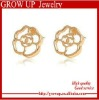 wholesale cheap gold earrings new model 2012