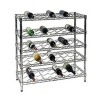 Durable wine storage rack wine shelving