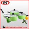 7pcs Forged aluminum ceramic cookware set