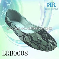 textile mesh upper lady shoes for dance