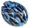 Bicycle helmet cycling helmet in blue and black