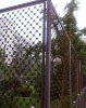 galvanized farm fence