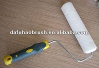 """9"""" wire cage frame sheep skin wool paint roller"""