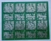 double side lead free HAL simple printed circuit board