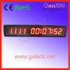 alibaba express indoor day led countdown clock with alarm