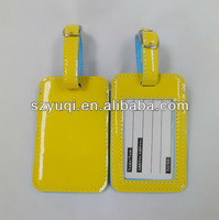 PU bag luggage tag