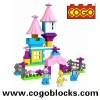 COGO plastic building block barbie princess for 3 years & up