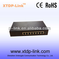 hot selling 10/100Mbps 8 port POE switch with best price