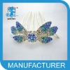 Fashion Wedding Jewelry Bridal Hair Comb butterlry shape hair comb
