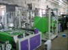 Nonwoven fabric bag making machine