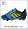 blue soccer footwear pu upper for men