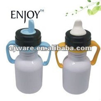 food grade stainless steel sippy bottle