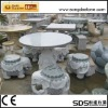 Natural Granite Stone Tables and Chairs