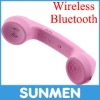 Retro mobile phone handset for iphone anti-radiation