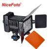 Photographic Equipment Nicefoto Camera or Video shooting camera portable LED light