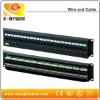 Front access wall mount Cat6 patch panel 24 ports RJ45