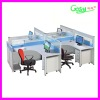 melamine board office workstation, office partition