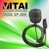 portable fm radio microphone for GP328/GP340 walkie talkie