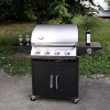 Outdoor kitchen 4 burners gas bbq grill