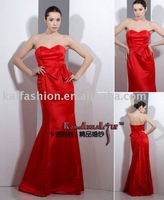 KAL-wedding dress formal dress satin dress EM8015 top quality OEM manufacturer