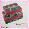 gift box with PVC window with Ribbon Bow