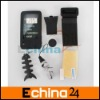 Black Soft Silicone Skin Case For Creative Lab Zen X-fi 2 2nd Generation Series zen X-fi 2