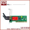 150M 300Mbps 802.11n PCI Wireless LAN Card with Antenna
