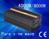 Factory sell dc 24v - ac 100v 4000w pure sine wave inverter with 10A charger