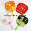 PP promotional fan/Plastic fan/handle fan