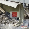 FRP guardrail/shield for conduct rail