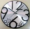 12 inches, 30cm Aluminum wall clock