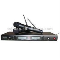 professional lcd display uhf wireless microphone JA-U8866
