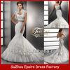 MW01 2013 Mermaid Elegant Bridal Gown With Lace Jacket wedding dress