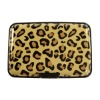 H&3 Yellow leopard elegant name card box