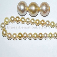 15-16mm Grade A gold south sea pearls for pearl necklace