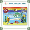Cartoon fish decor handmade glitter picture frame