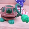 Cute plastic turtle light shaped desk light